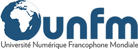 Université Numérique Francophone Mondiale Logo